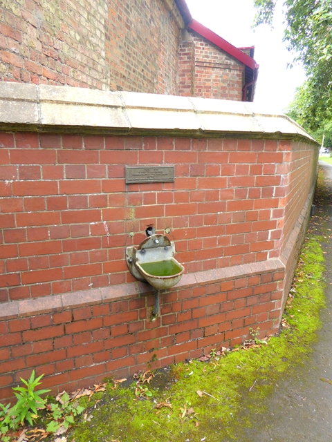 Drinking fountain at Tees Cottage