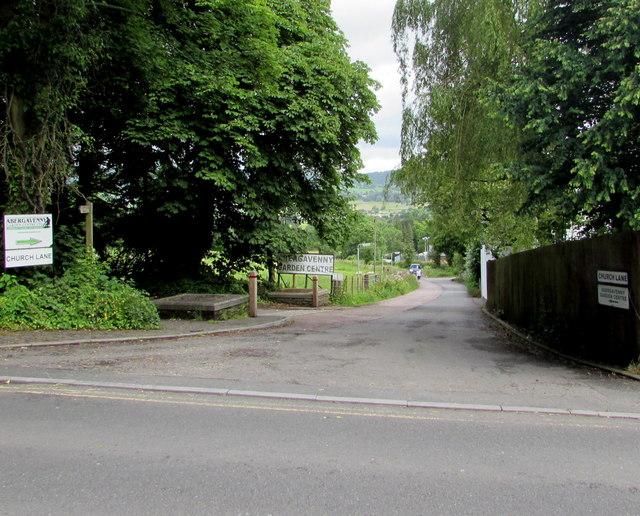 Down Church Lane, Llanfoist