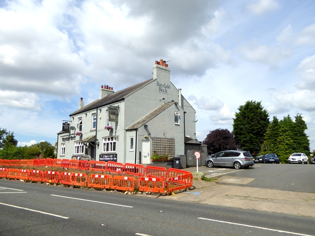 """The """"Baydale Beck"""" public house"""