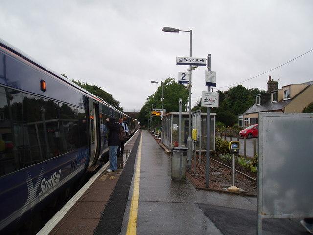 Platform 2 Portlethen Rail Station