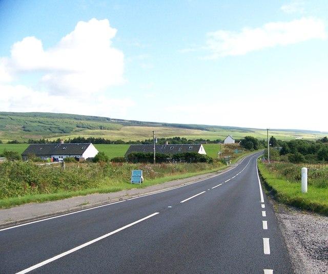 A83 north of Glenbarr Village