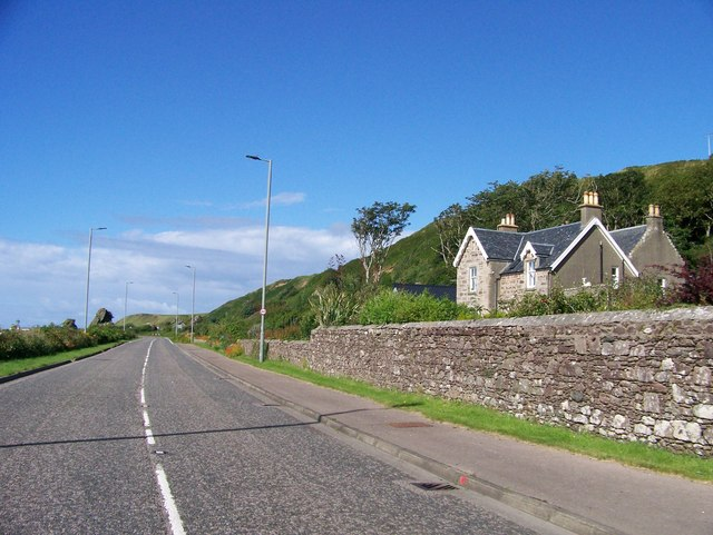 A83 heading north at Muasdale