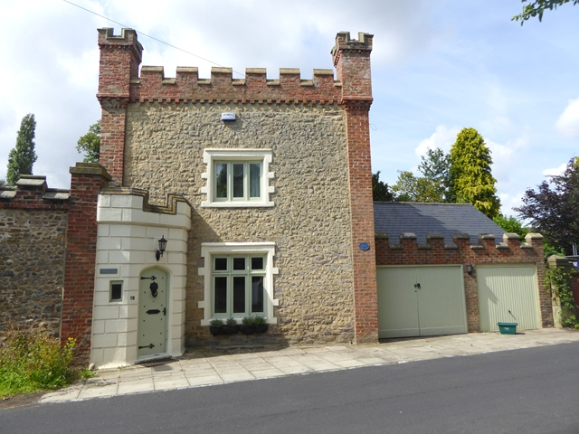 Castellated house on Blackwell