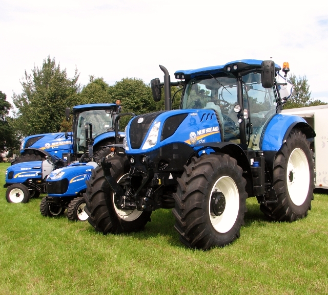 New Holland tractors and quad bikes