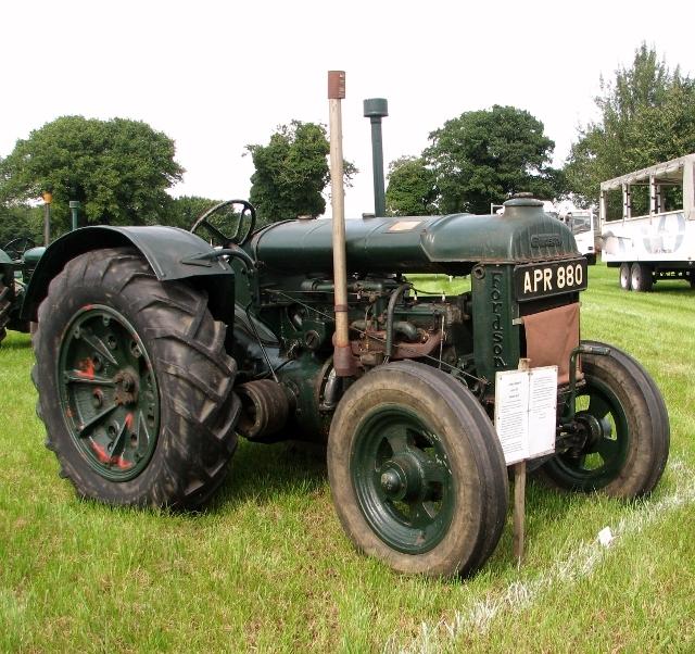 "Fordson Model N tractor ""April"""