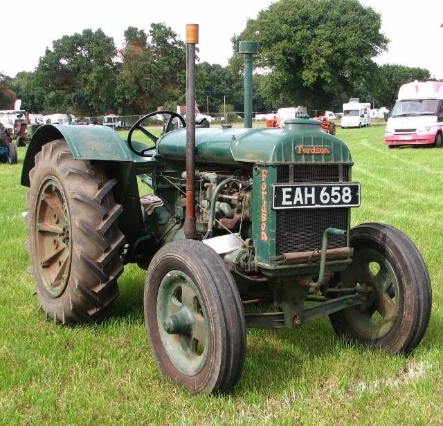 Vintage Fordson Model N tractor