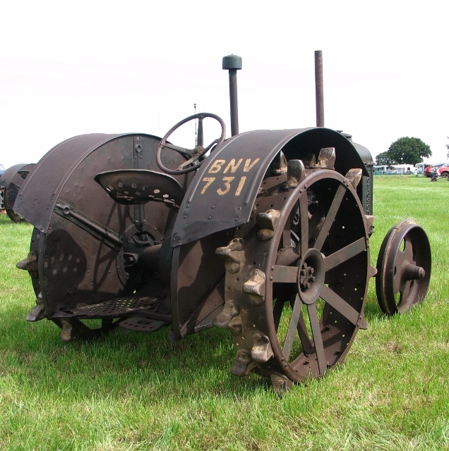 Early 1900s Fordson F tractor