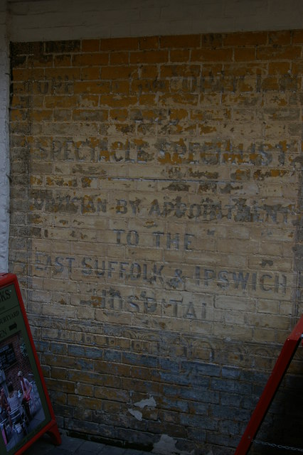 Ghost-sign, Dial Lane, Ipswich