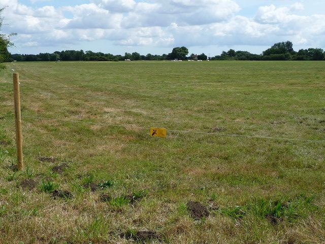 Mellis Common, looking east towards Potash Farm