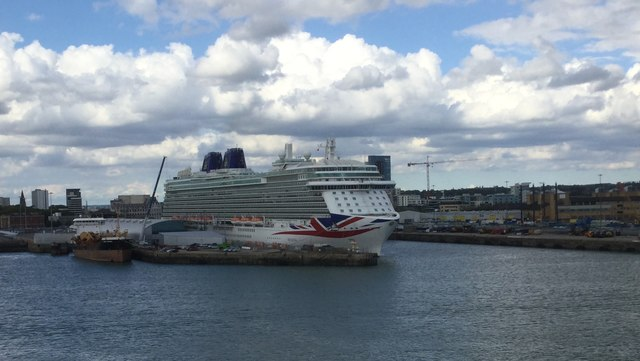 The Britannia in Port