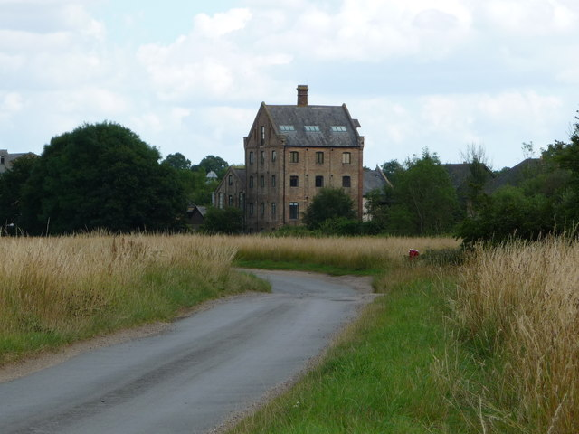 Robsons Mill, Mellis, from the south-west