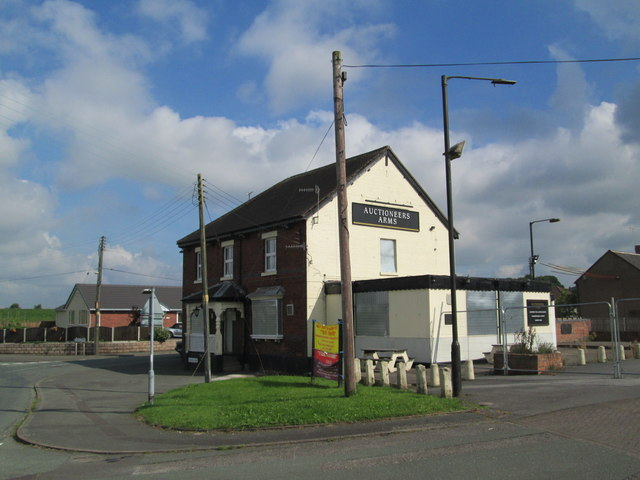 The Auctioneer's Arms, Cookshill