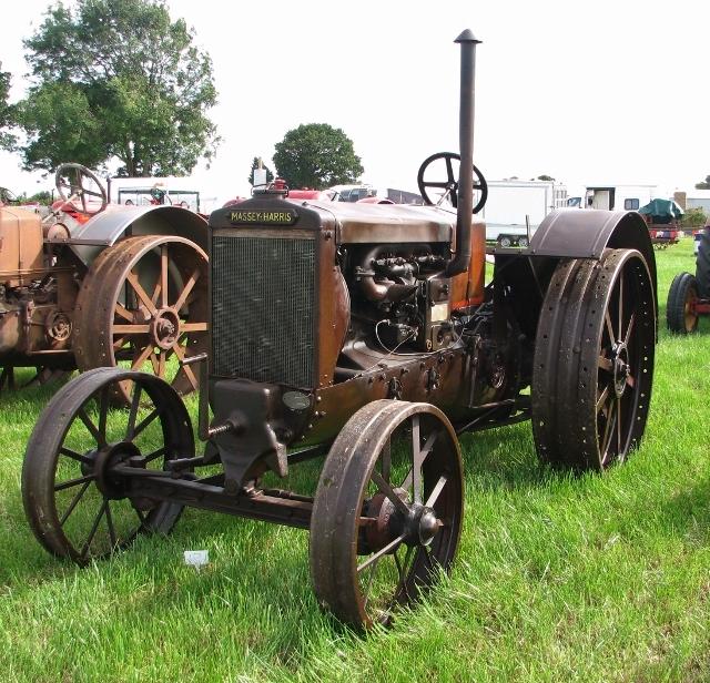 1930s Massey-Harris tractor