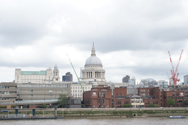 View of St. Paul's Cathedral from the South Bank #8