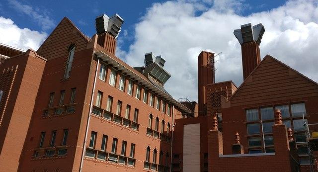 The Queens Building at De Montfort University