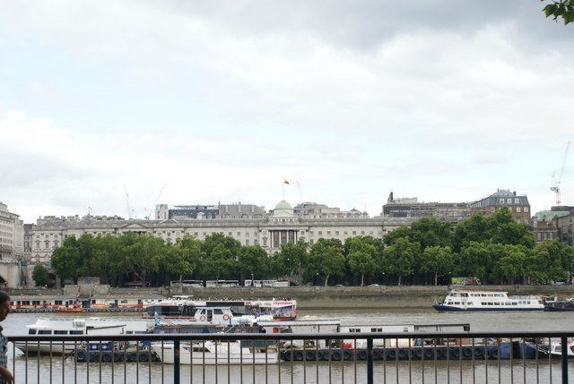 View of Somerset House from the South Bank #2