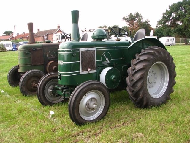 Vintage Field-Marshall tractors