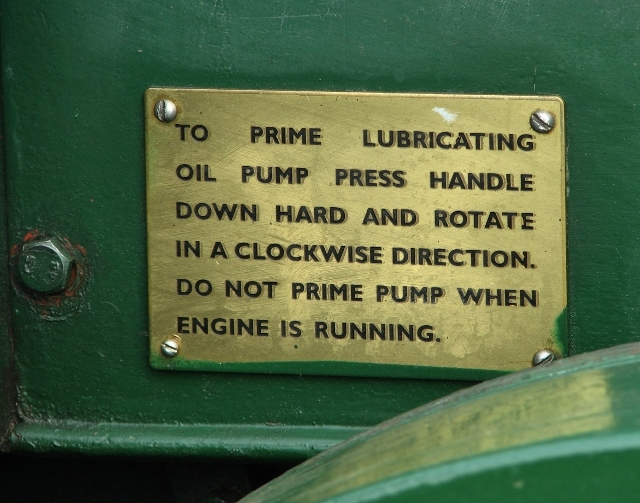 Vintage Field-Marshall tractor - detail
