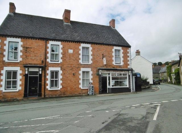 Llanrhaeadr-ym-Mochnant, butcher's shop