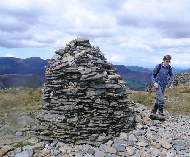 Summit Cairn on High Spy
