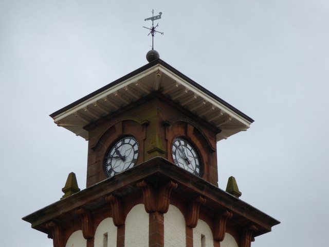 Wemyss Bay railway station tower
