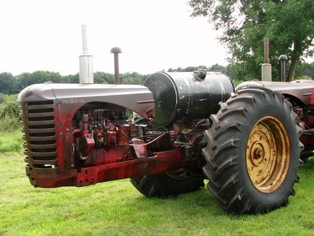 Massey-Harris 55 dual drive tractor - detail