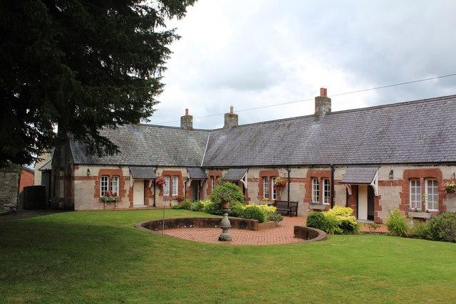 Ruthin almshouses (1)
