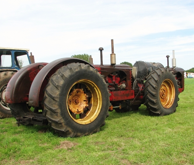 Massey-Harris 55 dual drive tractor