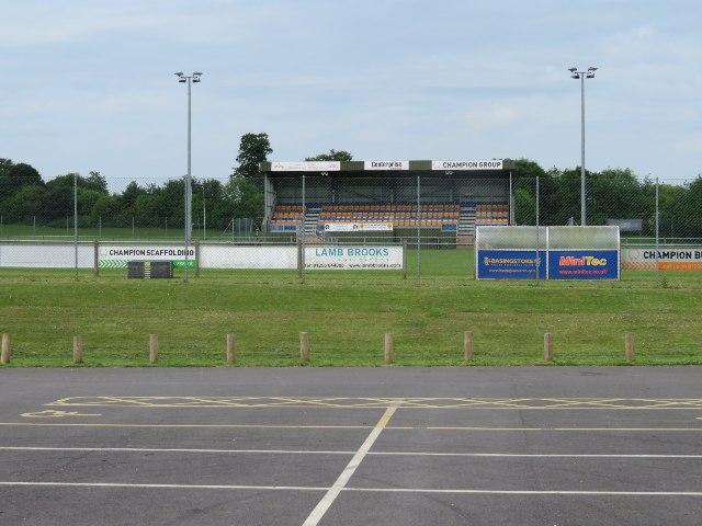 Main stand - Basingstoke Rugby Club