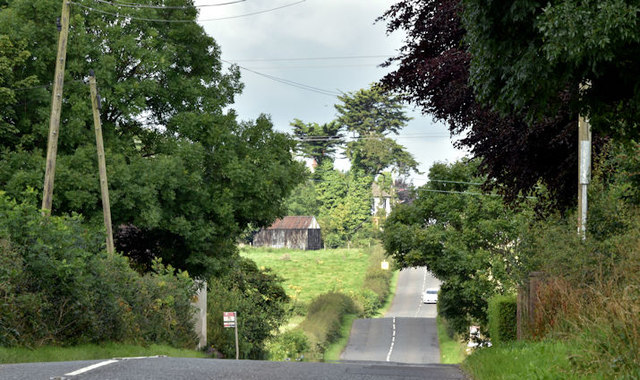 The Old Coach Road, Mallusk (August 2017)