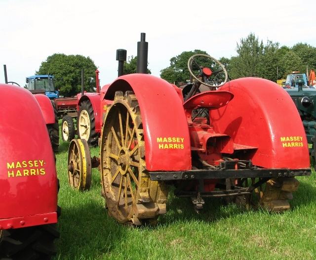 Massey-Harris 203 tractor