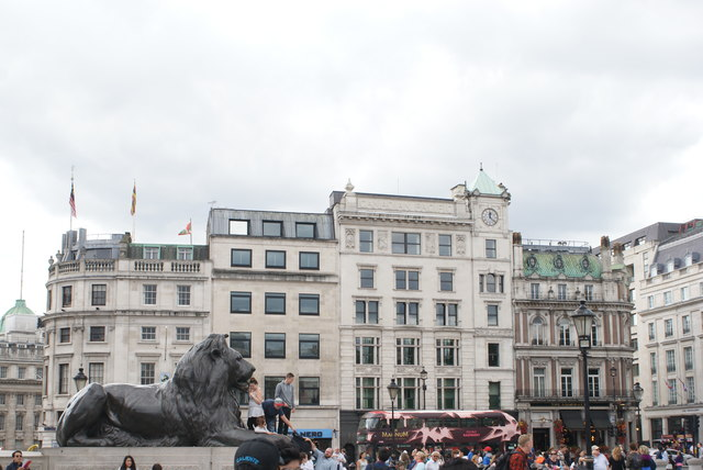 View of buildings on Pall Mall