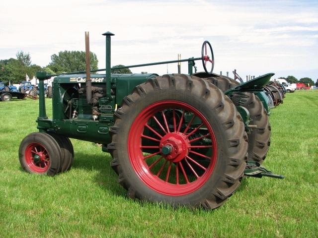 1930s Massey-Harris Challenger tractor