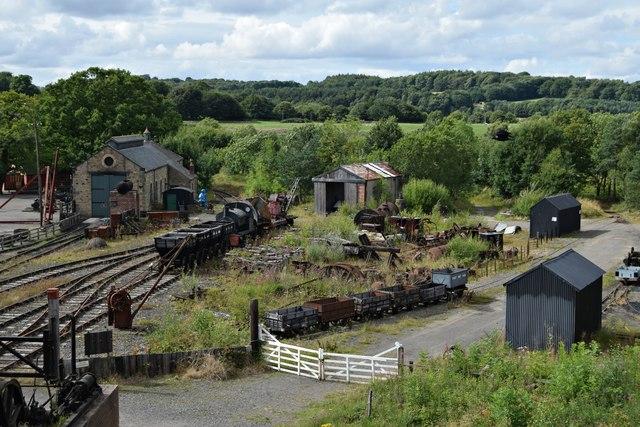 Beamish colliery sidings