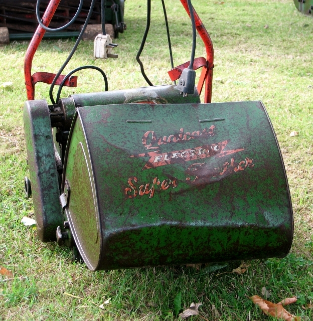 A Qualcast Electric lawnmower