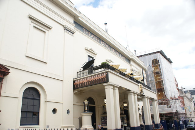View of the Theatre Royal Drury Lane from Catherine Street