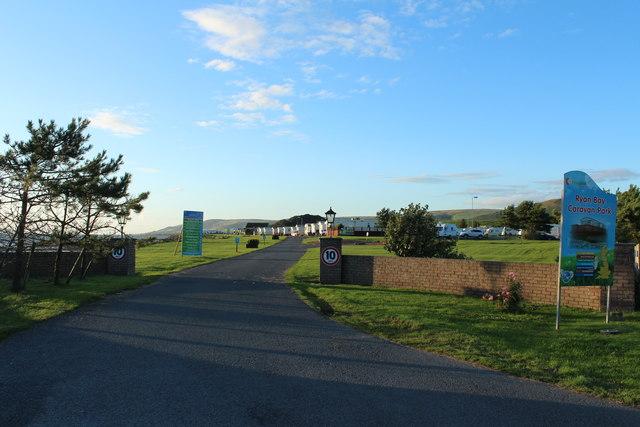 Entrance to Ryan Bay Caravan Park