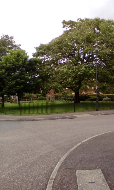 Children's playground, Fleming Way, Exeter
