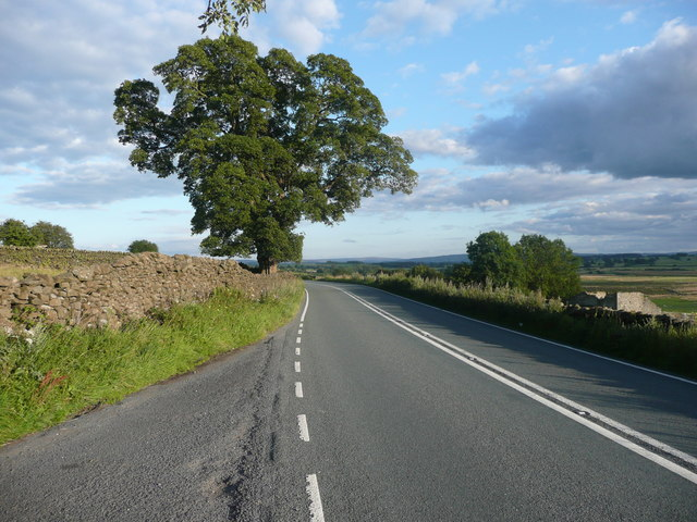 The A65, west of Long Preston