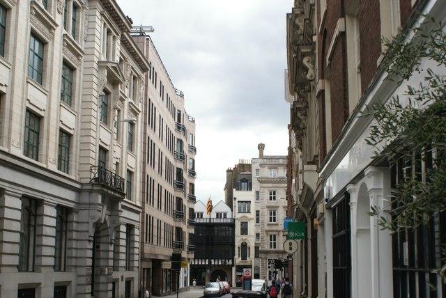 View down Chancery Lane to Fleet Street