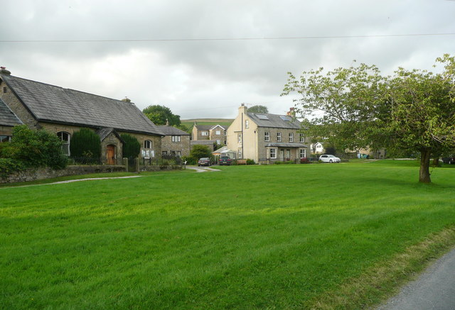 Village Green and Methodist chapel Newby