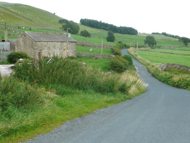 Old Road at Newby Cote
