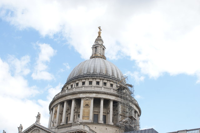 View of St. Paul's Cathedral from Paternoster Square #8