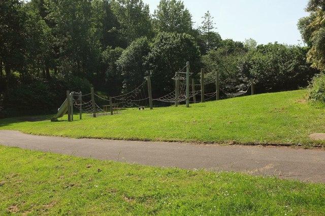 Climbing net, Kitson Park