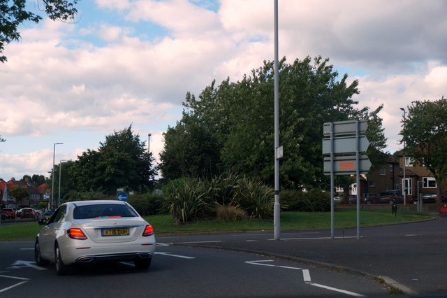Roundabout at Hook