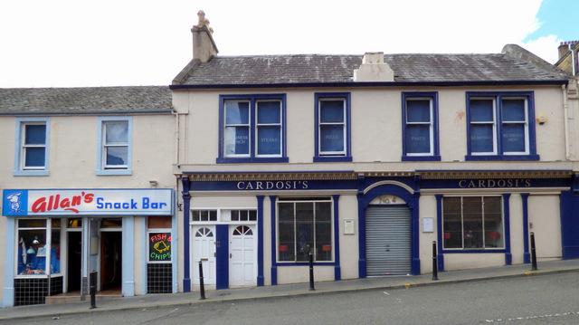 Cardosi's restaurant and Allan's snack bar