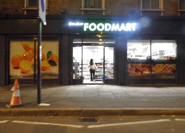 Foodmart on Lower Road, Bermondsey