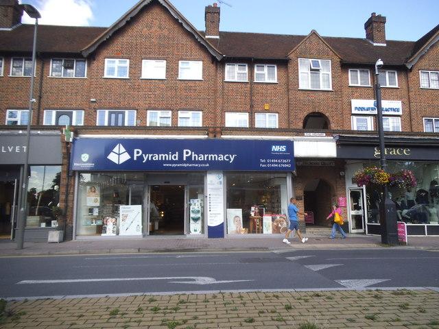 Pyramid Pharmacy on Station Road, Beaconsfield