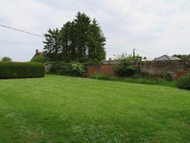 Unused corner Down Grange garden