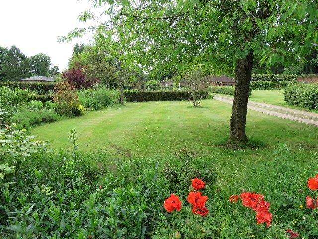 Down Grange - the walled garden